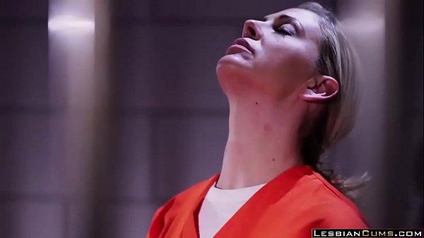 Hot Karlee Grey Lesbian Fucks in Jail – LesbianCums.com