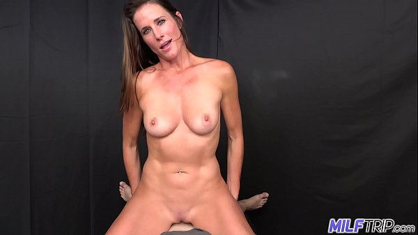 MILF Trip – Athletic brunette MILF fucked by fat cock – Part I