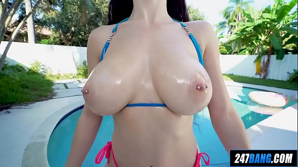 New Babe with Huge Natural Tits