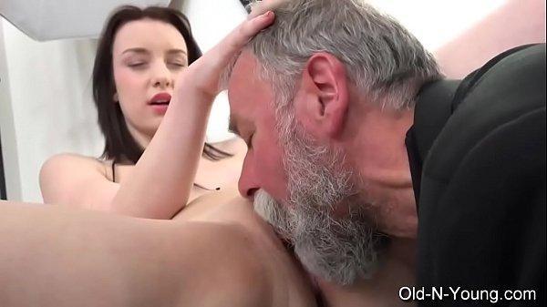 Old-n-Young.com – Lenka C- Old Guy Enjoys a Teen