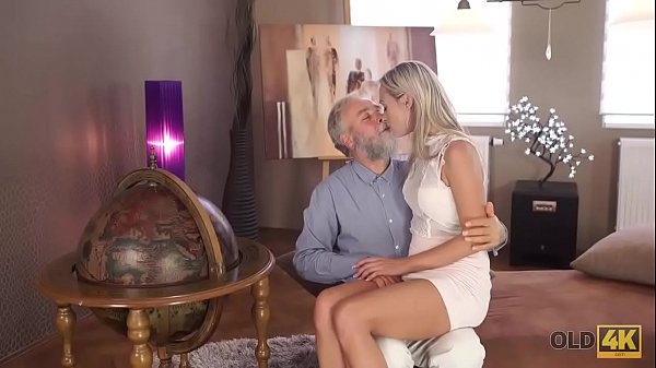 OLD4K. Horny Geography teacher gives student a hot sex lesson