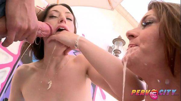 PervCity Extreme Deepthroat Cici Rhodes & Sarah Shevon