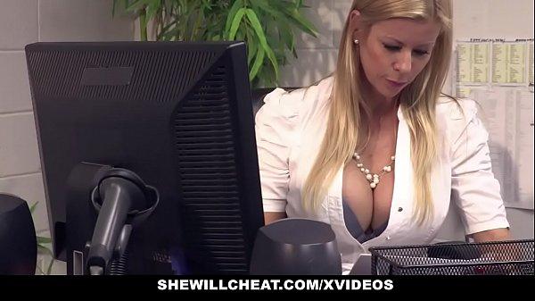 SheWillCheat – Busty MILF Boss Fucks New Employee