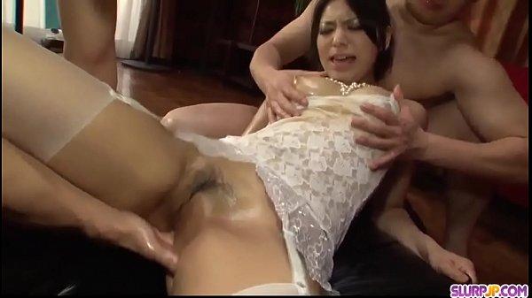Supreme Asian threesome along Kanade Otowa – More at Slurpjp.com
