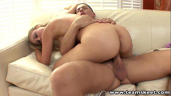 TeamSkeet Blonde girlfriend banged by her horny boyfriend