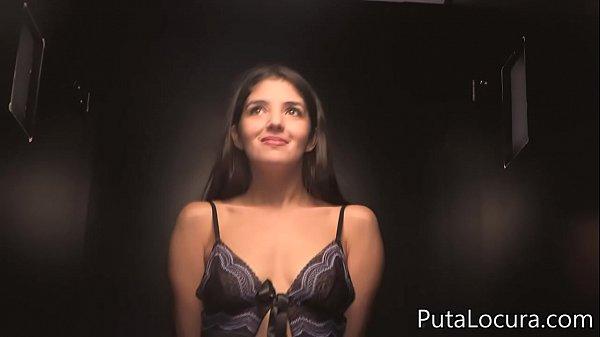 A beautiful Arab girl swallowing 11 cumshots