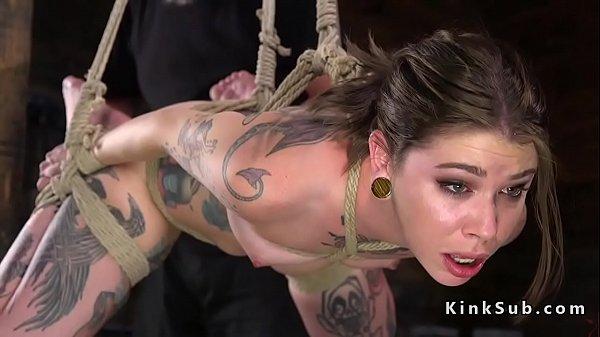 Alt slave spanked and abused in bondage