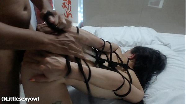BDSM Bondage my neighbor likes to come for me to fuck and cumming in my back – littlesexyowl interracial