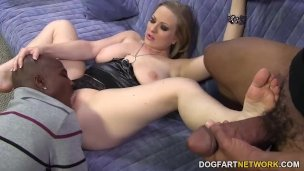Double Penetration With Big Black Cocks – Vicky Vixen