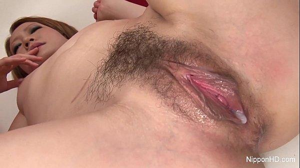 Japanese slut gets creampied