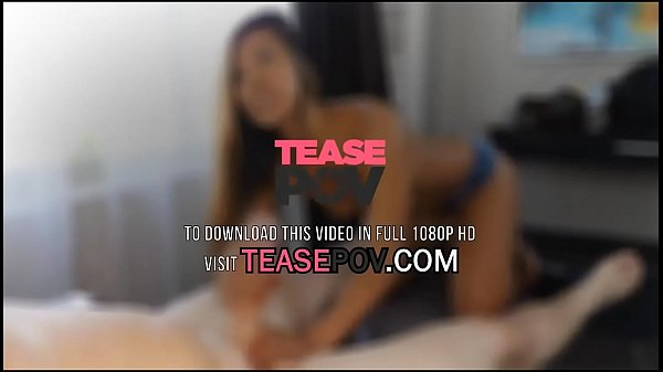 POV Brunette Teens Blowjob Makes You Want To Explode