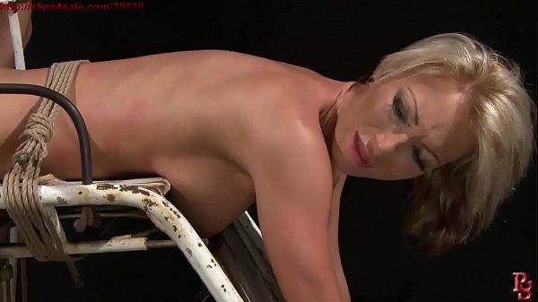 Super sexy slave trained for sub slut. BDSM movie. Hardcore bondage sex.