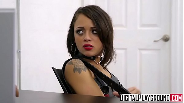 Tiny teen Holly Hendrix gets punished by cop – DigitalPlayground