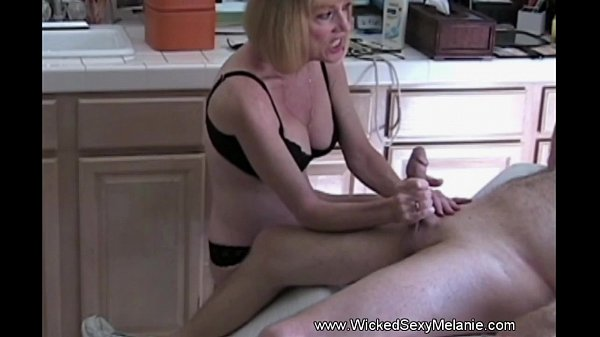 Wicked Sexy MILF Handjob