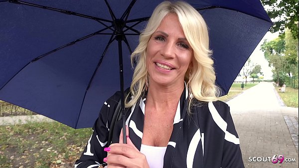 GERMAN SCOUT – Bombshell MILF Tiffany tricked to Fuck at real Pick up Street Casting