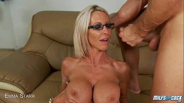 MILF Emma Starr fucked and facialized