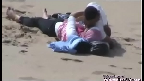 Arab Hijab Girl with Her BF Caught Having Sex on the
