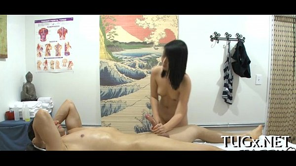 Bawdy massage with happy ending
