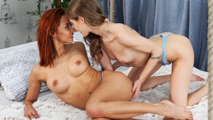 BFF Teases Veronica Leal For Hot Lesbian Fuck