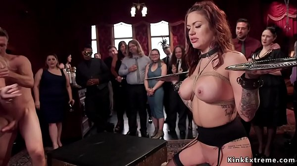 Busty Milfs anal fucking at bdsm orgy