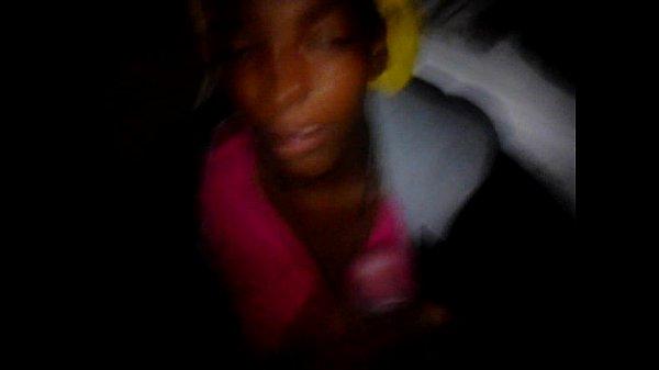 Ebony Blowjob & Facial