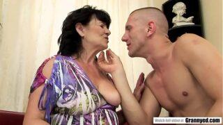 Fatty Grandma plowed by energetig big dick – Helena May