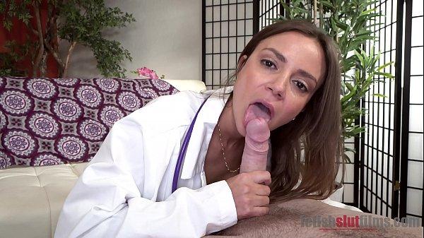Horny MILF Doctor Havana Bleu Sucks A Big Cock For Medical Reasons