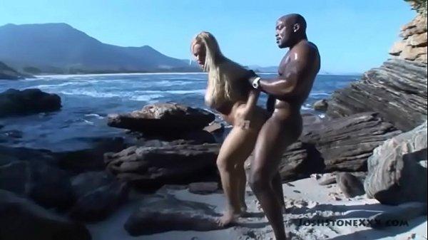 Interracial con brasileña