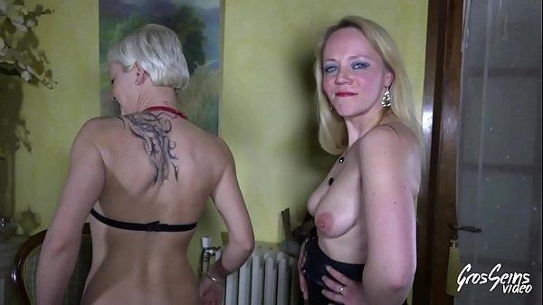 Isabelle, Loly et Klara trois belles salopes aux gros seins