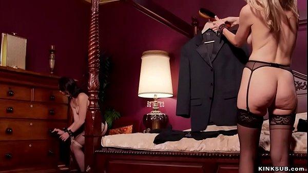 Master anal fucks hot sex slaves