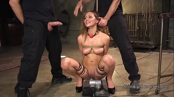 Masters giving rough training to slave
