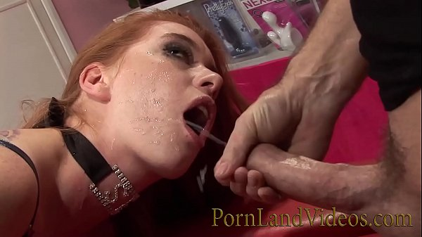 Naughy anal play with young Redhead bitch