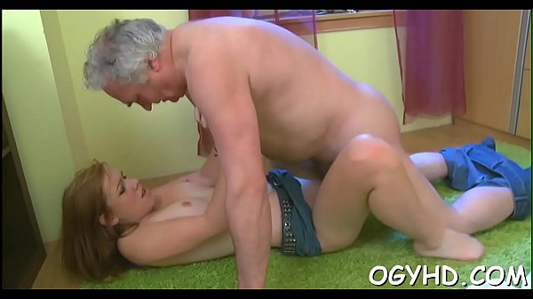 Old boy craves for young hole