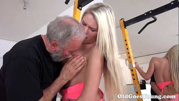 Old Goes Young – Martina loved how this old  sucking her tits