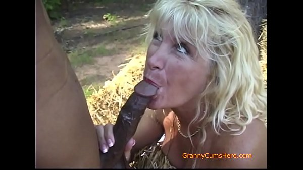 Our Slutty Granny Loves Interracial Sex and a BBC