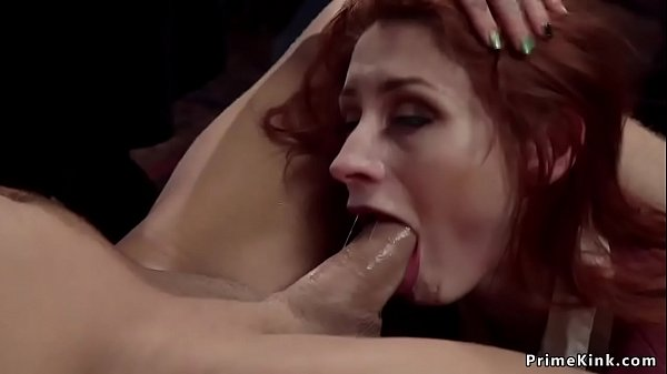 Redhead gets bdsm revenge from maid