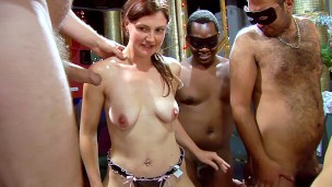 Slim pale wife wants satisfying by many men