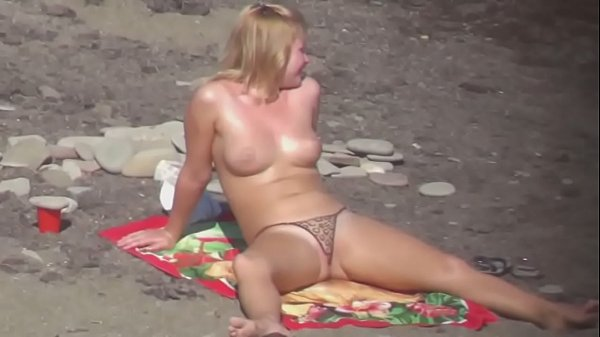 Tits And Sheer Panties Beach Voyeur from www.unluckylady.com