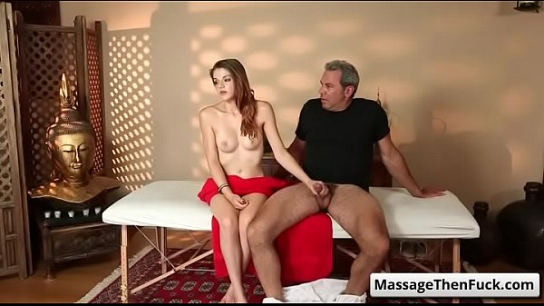 Tricked into sex massage with Steven St. Croix and Haley Banks video-03