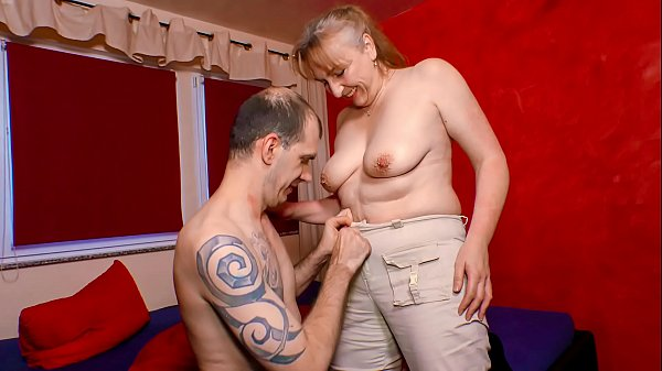 XXX OMAS – Naughty mature German granny gets screwed